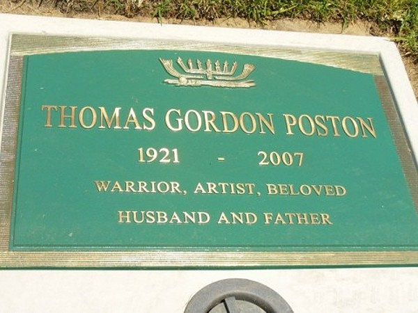 Tom Poston Gravesite